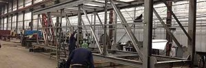 Steel Truss Fabrication